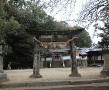 温泉熊野神社 鳥居