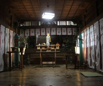 温泉熊野神社 幣殿