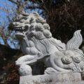日野江神社 狛犬