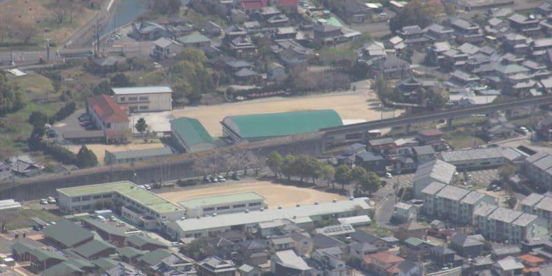 長崎県立島原特別支援学校高等部と島原中央高等学校