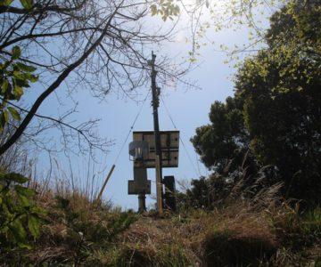 眉山 南峰 GPS観測局