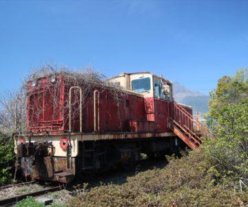 ふかえ桜パーク D37型ディーゼル機関車