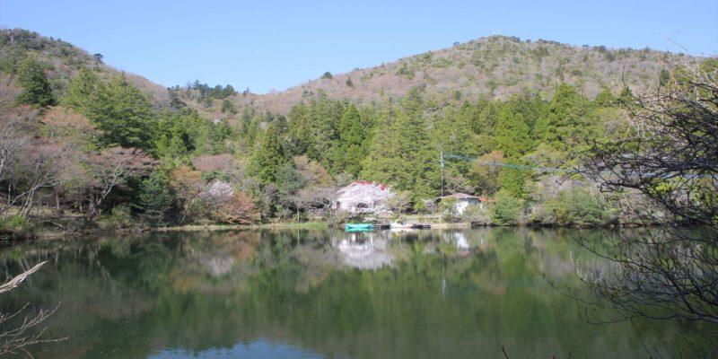 白雲の池キャンプ場 ボート乗り場