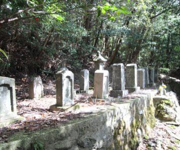 鴛鴦の池 墓