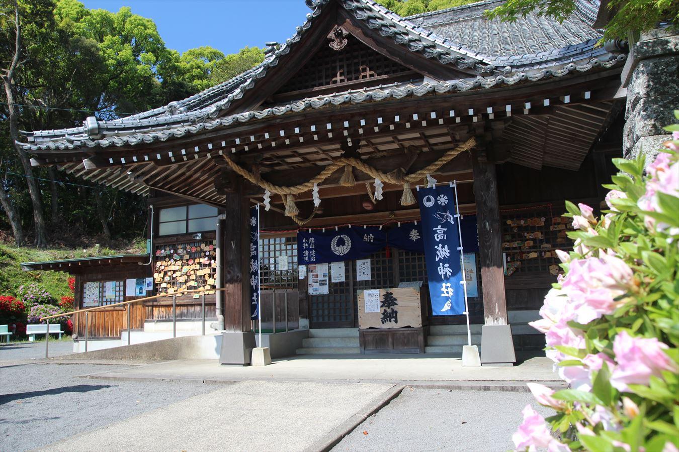 高城神社 拝殿