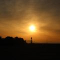 島原海浜公園 灯台 日の出