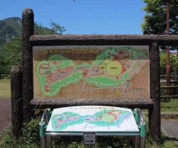 ひょうたん池公園案内図