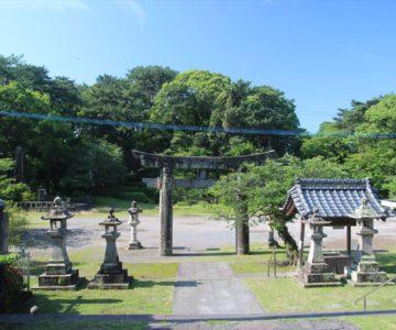 霊丘神社 鳥居