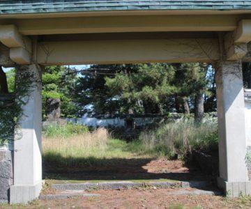 丘公園 島原護国神社