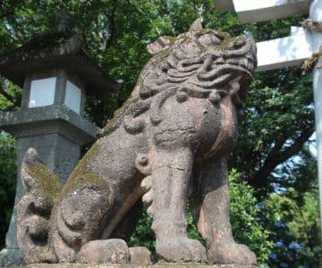 八幡神社 狛犬
