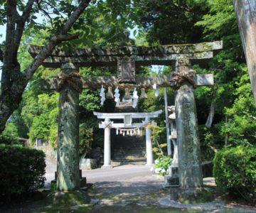 有明温泉神社 鳥居