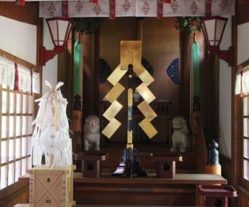 有明温泉神社 幣殿