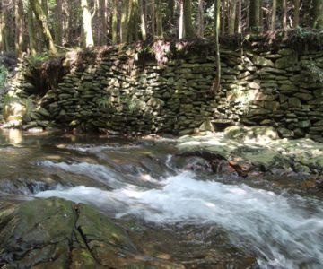 戸ノ隅の滝 清水川