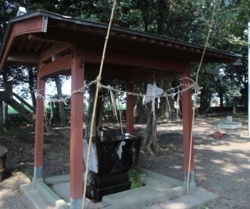 熊野神社 手水舎