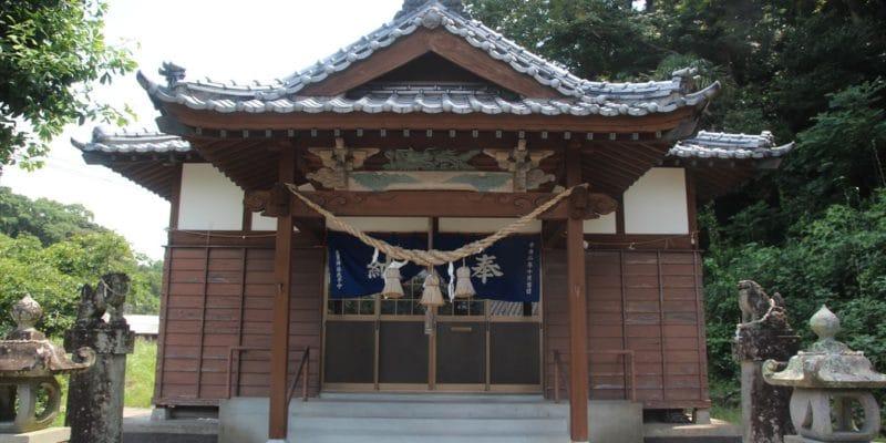 志賀神社 拝殿