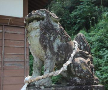 志賀神社 狛犬