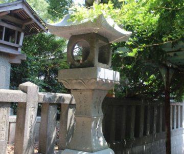 若宮神社 石灯篭