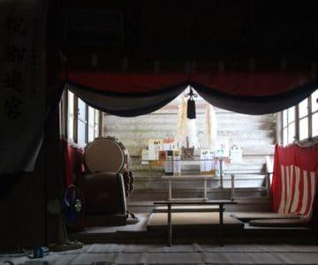 若宮神社 幣殿