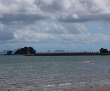 長浜海岸 灯台