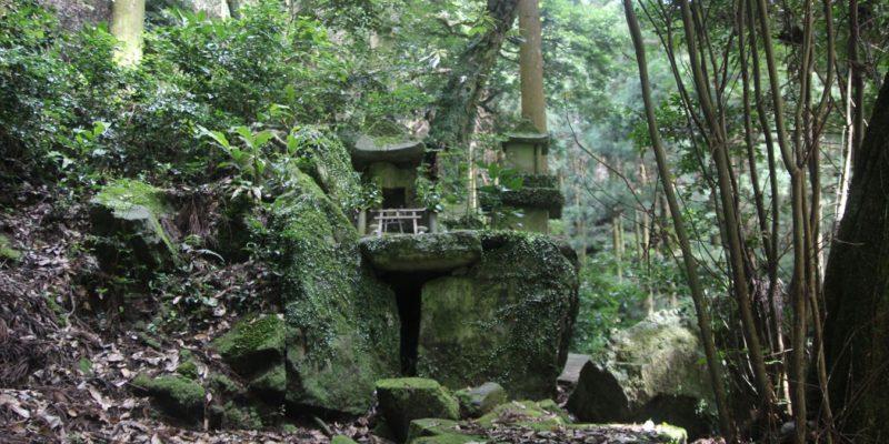烏兎神社 石祠