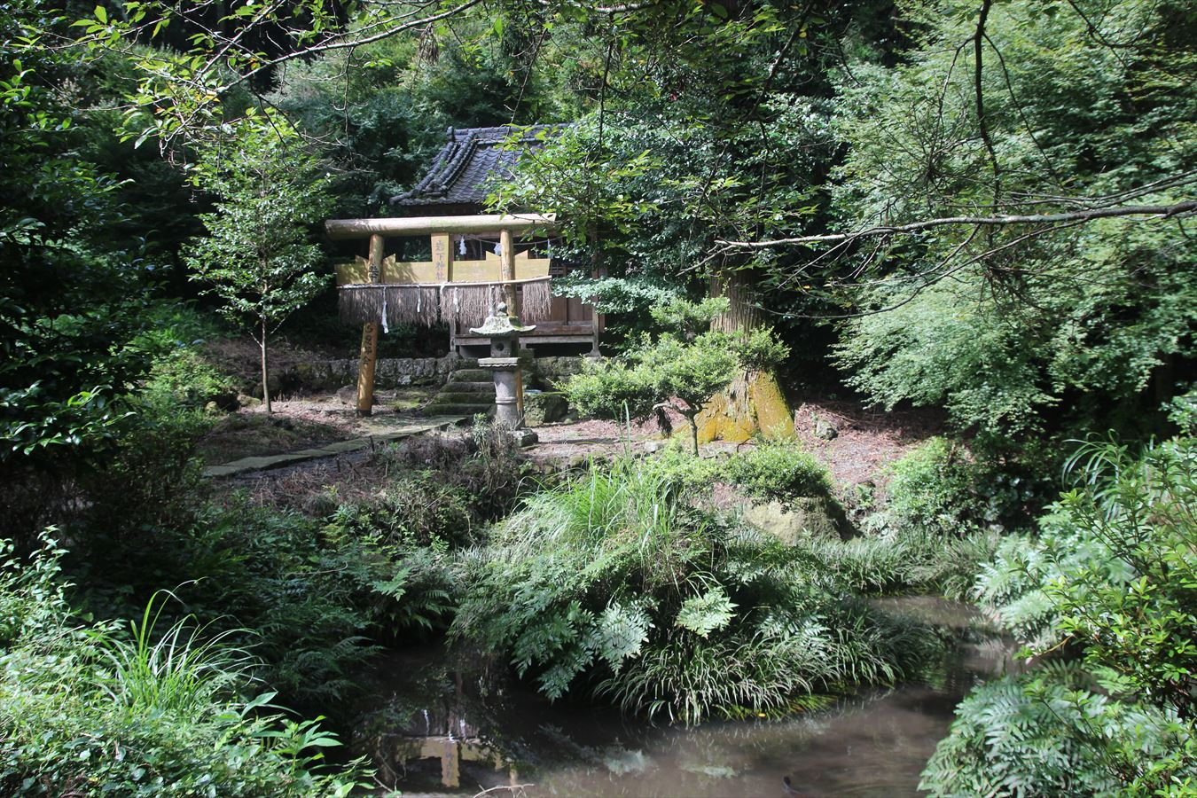 岩下神社 鳥兎神社