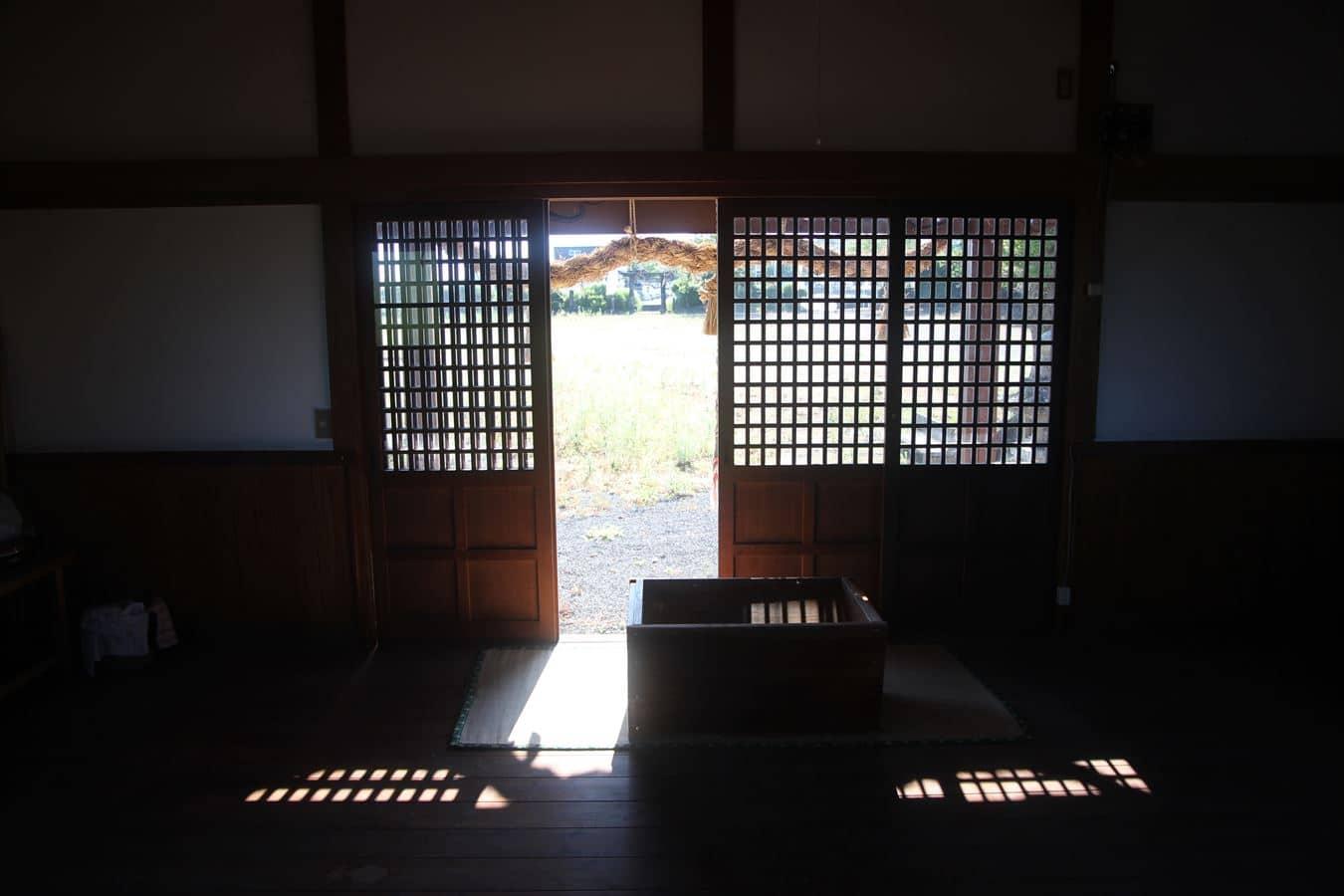 山ノ上神社 拝殿