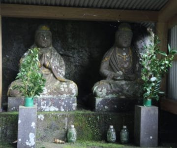 岩下神社 観世音菩薩像