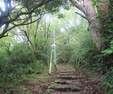絹笠山登山