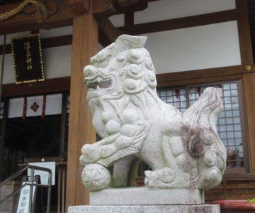 多比良温泉神社 狛犬