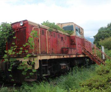 ふかえ桜パーク 機関車
