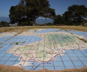 牧場の里あづま 島原半島の地図
