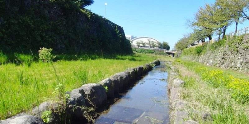 島原城お堀
