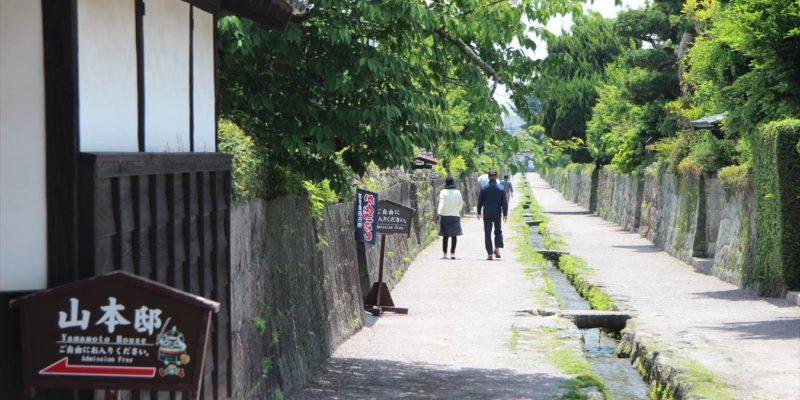 島原武家屋敷 水路