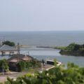霊丘公園から長浜海岸