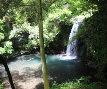 南島原市 鮎帰りの滝